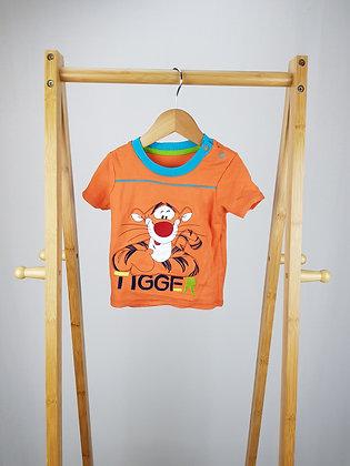 Disney at George Tigger t-shirt 9-12 months