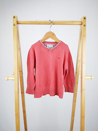 Next coral fine knitted sweater 3-4 years