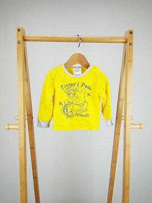 Disney Winnie the Pooh pyjama top 6-9 months