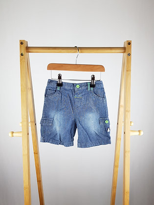 TU denim shorts 18-24 months