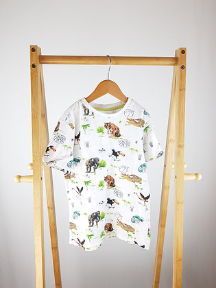 F&F animal t-shirt 6-7 years