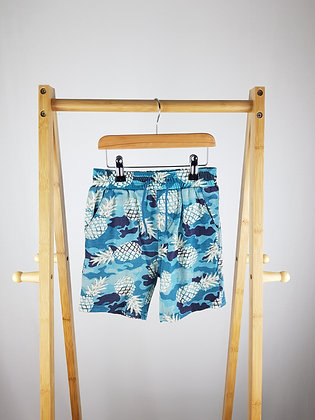 V by Very pineapple camouflage shorts 4-5 years