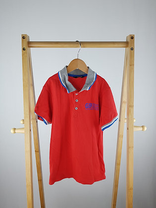 George red polo shirt 8-9 years