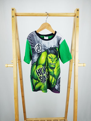 Marvel Avengers Hulk t-shirt 7-8 years