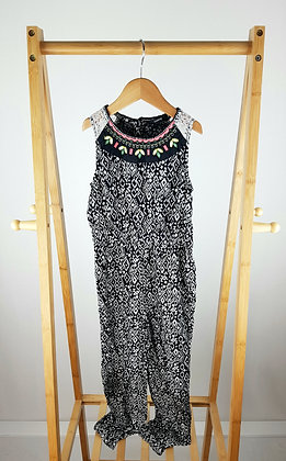 George abstract jumpsuit 6-7 years