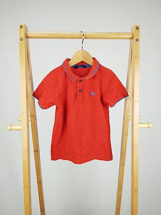 George red dinosaur polo shirt 4-5 years