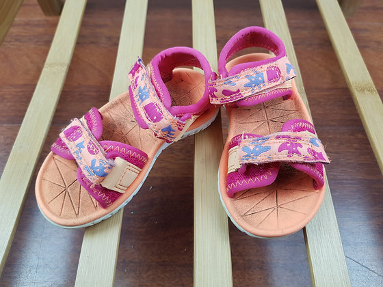 Clarks orange sandals UK 5F