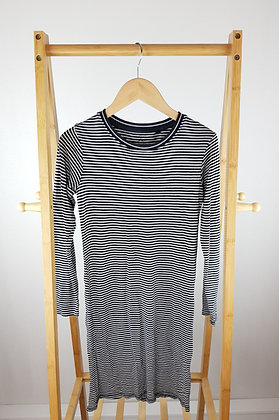 Next long sleeve striped ribbed dress 12 years