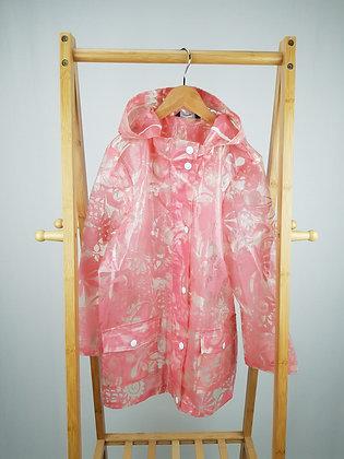 George floral rain coat 8-9 years