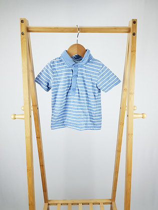 George striped polo shirt 9-12 months