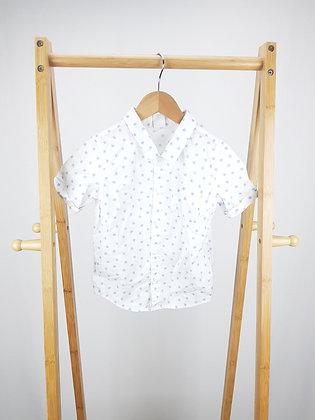 H&M star print shirt 18-24 months
