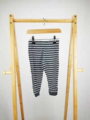 F&F striped bottoms 12-18 months