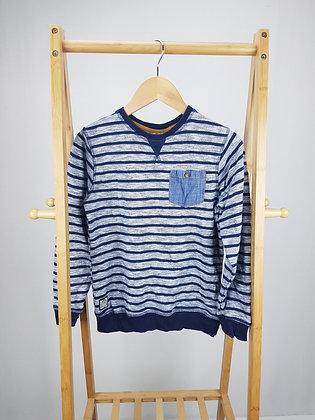 Matalan striped sweater 8-9 years