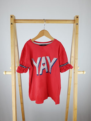 George red t-shirt 7-8 years