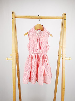 Jasper Conran pink floral dress 12-18 months