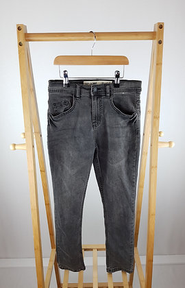 Denim Co black denim skinny jeans 11-12 years