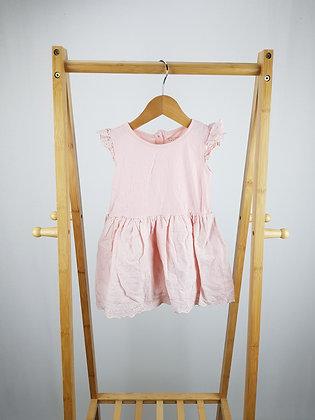 Primark pink dress 12-18 months