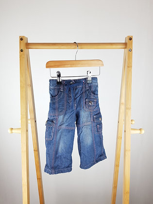 George lined jeans 9-12 months