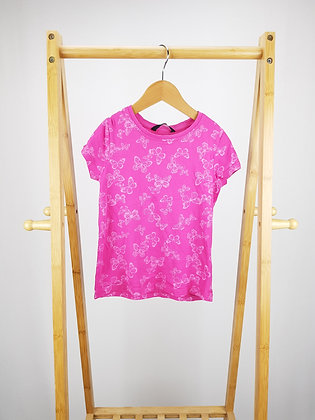 George pink butterfly t-shirt 5-6 years