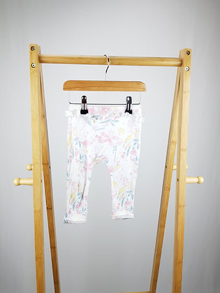 George floral joggers 6-9 months