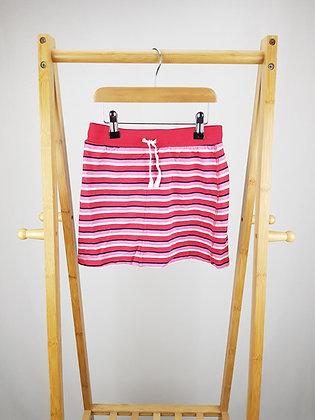 George striped skirt  8-9 years