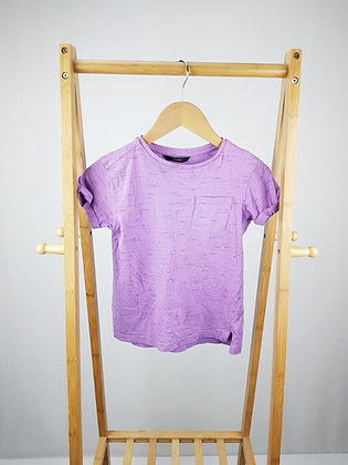 George lilac t-shirt 7-8 years