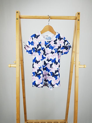 M&Co butterfly t-shirt 7-8 years