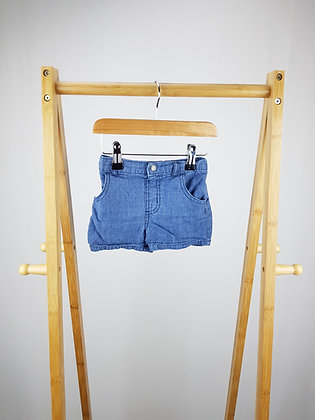 Garanimals denim shorts 9-12 months