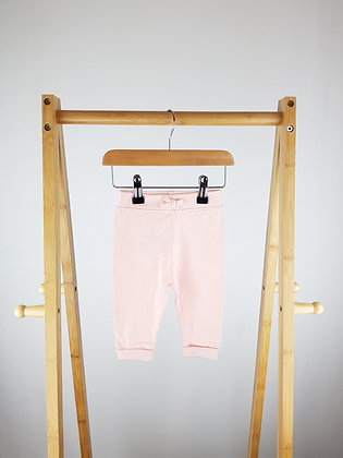 George pink joggers 3-6 months