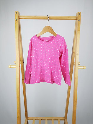 Lupilu spotted long sleeve top 4-6 years