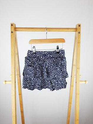TU layered floral skirt 4-5 years