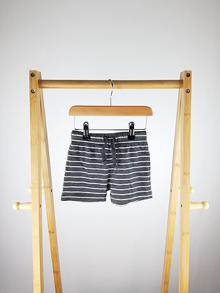 F&F striped shorts 9-12 months