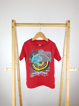 Nike red t-shirt 3-4 years