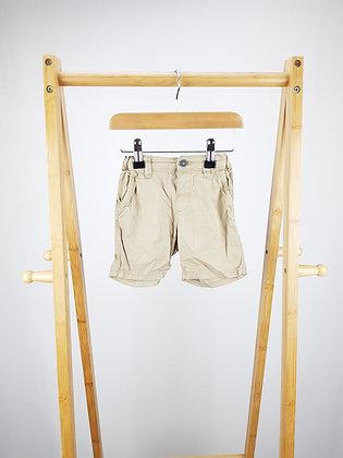 H&M beige shorts 6-9 months