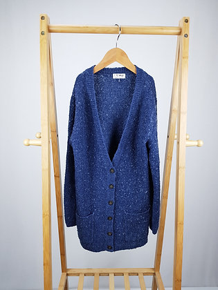 Next blue knitted cardigan 10 years