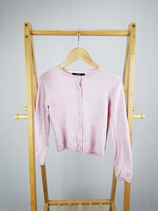 George pink knitted cardigan 8-9 years playwear