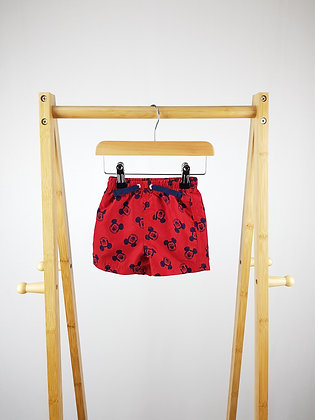 Disney at George Mickey Mouse shorts 6-9 months