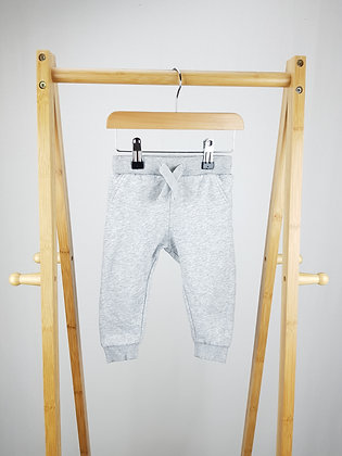 F&F grey joggers 12-18 months