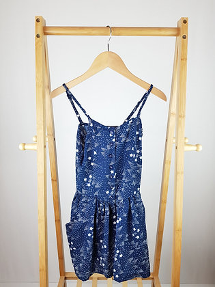 Young dimension  navy playsuit 7-8 years