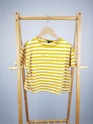 New Look striped top 12-13 years