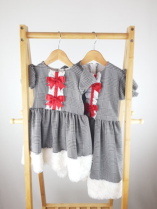 The Baby boutique UK matching sister dresses 12-18 months & 3-4-5 years