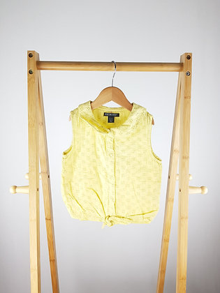 Primark yellow top 6-7 years