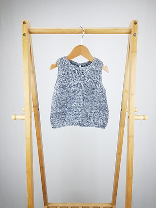 M&S sparkly knitted top 18-24 months