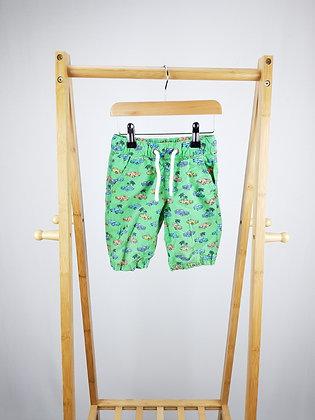 F&F car print shorts 2-3 years