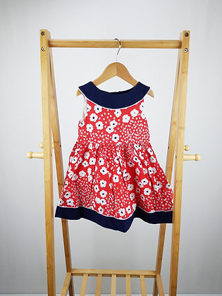 Mothercare floral dress 18-24 months