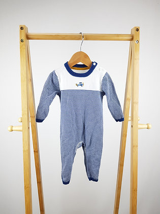 M&S long sleeve knitted all-in-one 3-6 months