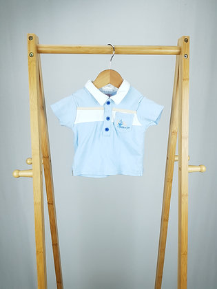Kris X kids nautical polo shirt 3-6 months
