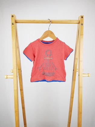 M&S robot t-shirt 9-12 months