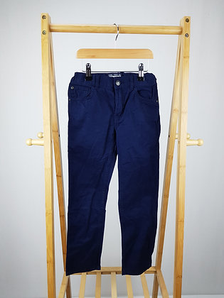 H&M navy trousers 7-8 years