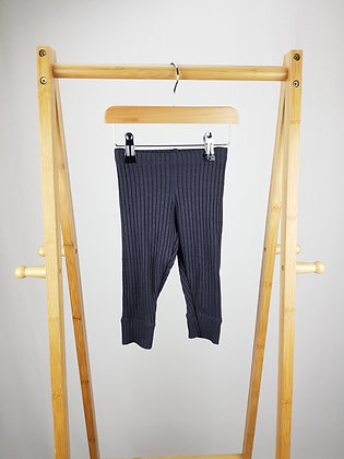 F&F ribbed knitted leggings 12-18 months